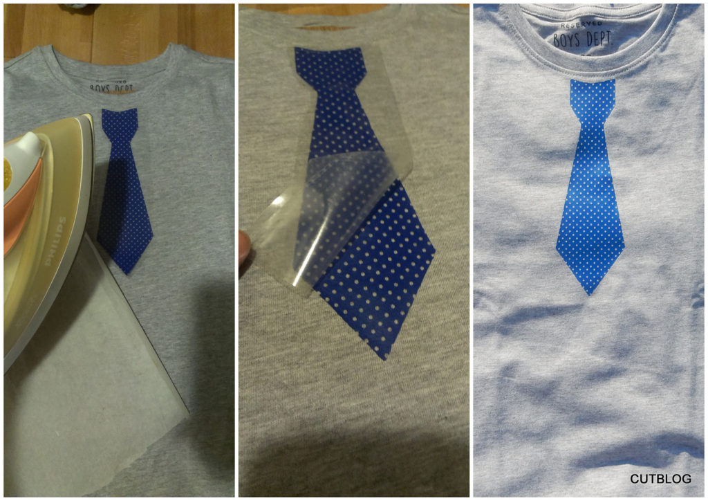 potisk tricko kravata